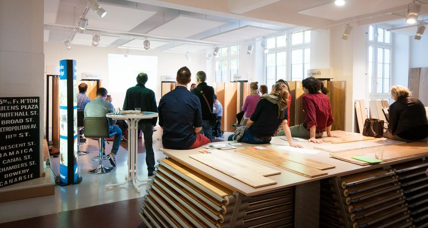 Houzz Workshop bei Parkett Direkt