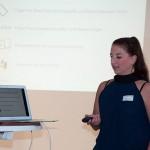 Julia Walter-Herrmann stellt die Plattform houzz vor.