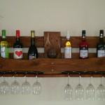 Weinregal aus Europalette