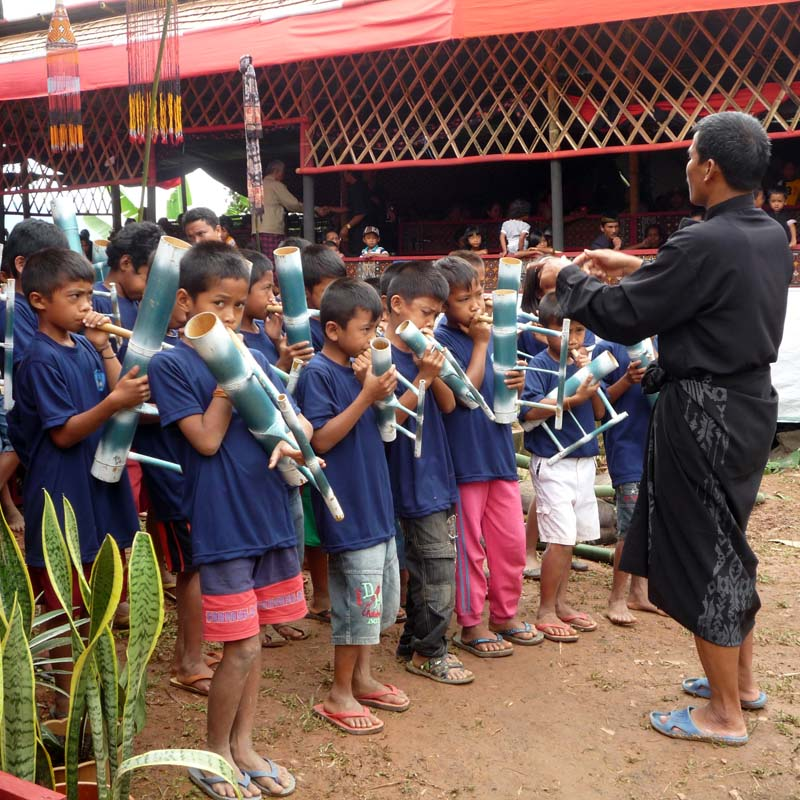Bambusflöten-Orchester