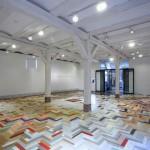 Der gesamte Galerieraum der Ausstellung