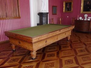 Intarsienparkett im Billardsaal von Schloss Corvey
