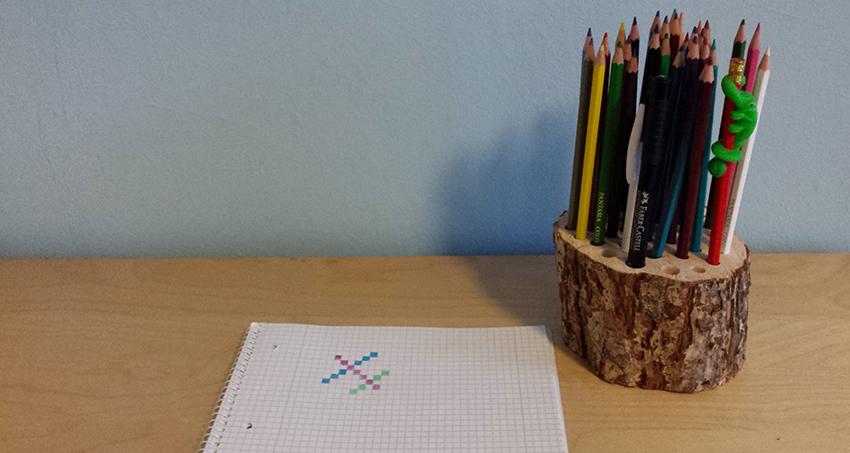 DIY Stiftehalter basteln
