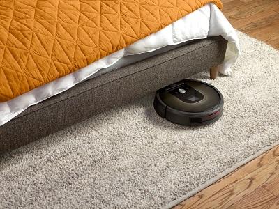 Ein Roomba navigiert selbständig in seiner Umgebung
