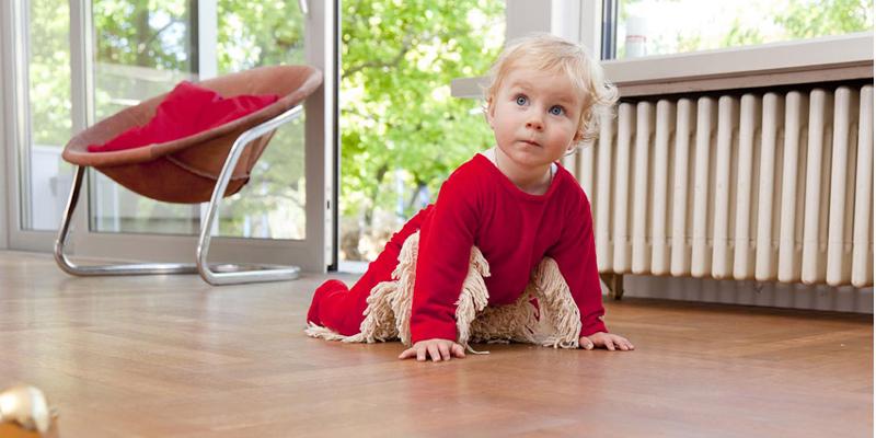 Der Baby Mop für eine putzige Bodenreinigung