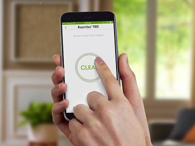 Planung und Steuerung mit der iRobot HOME App