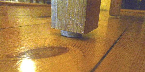 Boden Life Hacks Korken für Holzboden