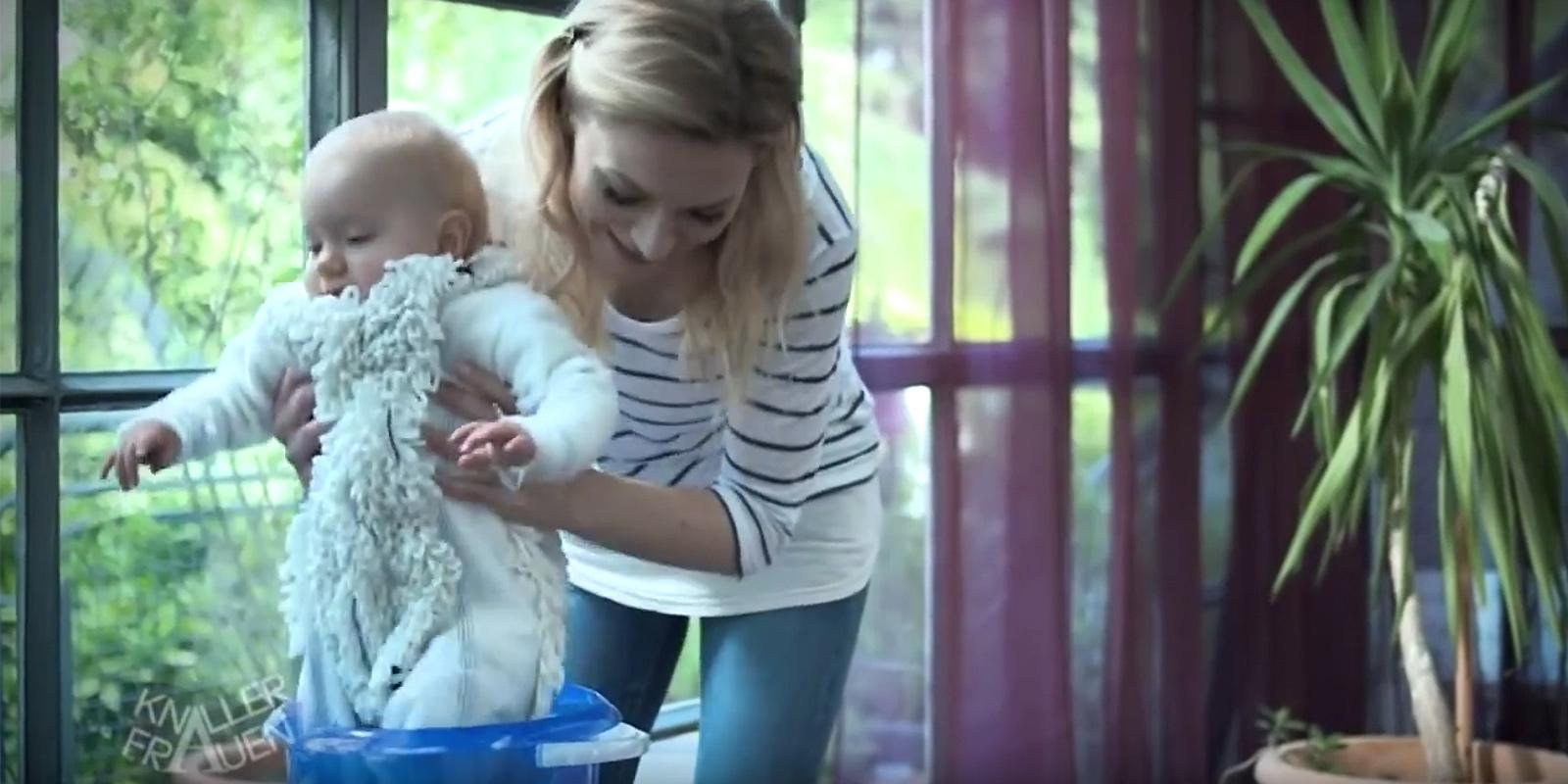 Knallerfrauen-Babymop