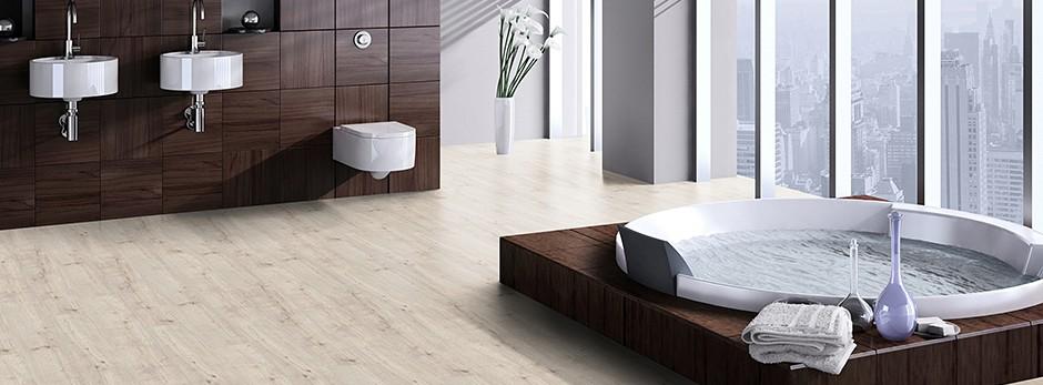 Favorit Vinylboden im Badezimmer - Parkett Direkt Magazin KH08